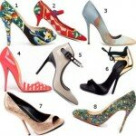 Модные туфли весна-лето 2013